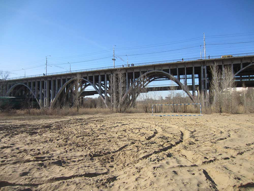 Освещение Астраханского моста